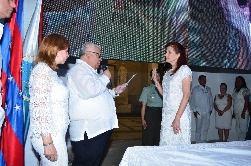 Asume Rosa Cotes de Zúñiga la gobernación del Magdalena